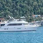 Sempat Berlabuh di Tarempa, Kapal Yacht Asal Singapura Kembali ke Batam